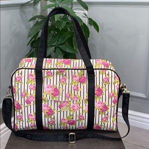 Betsey Johnson Floral Duffel Bag